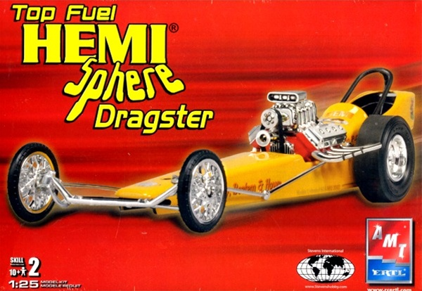 1964 Garlit S Hemi Sphere Front Engine Top Fuel Dragster