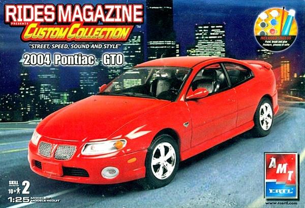 2004 Pontiac GTO Rides Magazine Custom Collection (1/25) (fs)