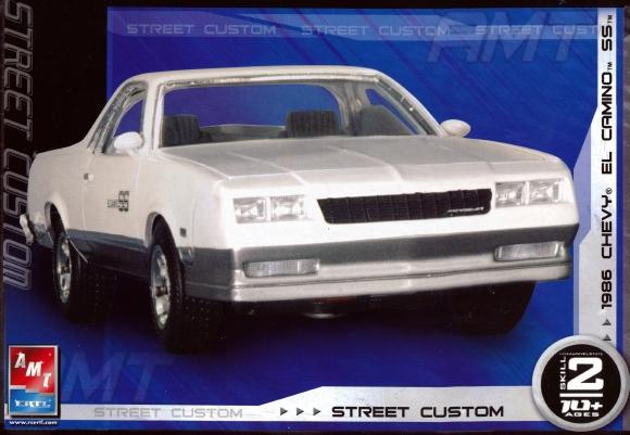 Chevy Silverado Aftermarket Parts >> 1986 Chevy El Camino SS (2 'N 1) Stock or Custom (1/25) (fs)