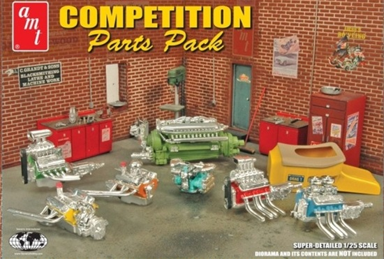 Stevens Engines and T Body Parts Pack (1/25) (fs)