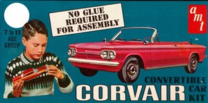 1963 Chevy Corvair Convertible 'Craftsman Series' (3 'n 1) Beginners, Collectors Or Customizers (1/25)