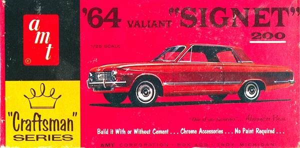 Kit Car Manufacturers >> 1964 Plymouth Valiant Signet 200 Hardtop 'Craftsman' (1/25) MINT