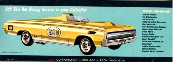 1964 Oldsmobile F-85 Cutlass Convertible (3 'n 1) Stock, Custom or Racing  (1/25)