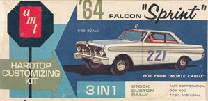 1964 Ford Falcon Sprint Hardtop (3 'n 1) Customizing Kit (1/25)