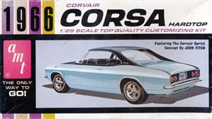 1966 Chevy Corvair Corsa Sports Coupe 'Gene Winfield Customizing Kit' (3 'n 1) Stock, Custom or Competition (1/25)