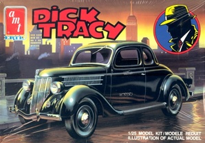 1936 Ford 'Dick Tracy' Five-Window Coupe (3 'n 1)  (1/25) (fs)
