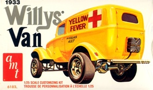 "1933 Willys Panel Van Gasser ""Yellow Fever""  (1/25)  (fs)"