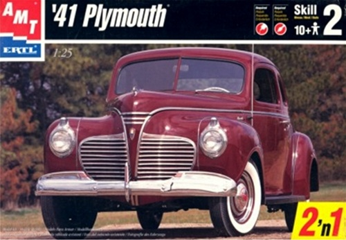 1941 Plymouth Coupe (2 'n 1) (1/25) (fs)