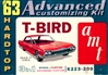 1963 Ford Thunderbird Hardtop (3 'n 1) Stock, Custom or Advanced Custom (1/25)