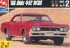 1966 Oldsmobile Cutlass 442  (1/25) (fs)