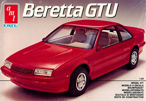 1989 Chevy Beretta Gtu 1 25 Fs