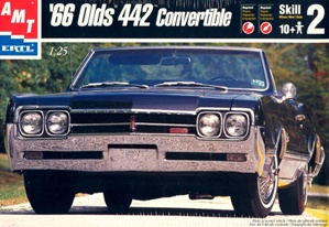1966 Olds 442 Convertible (1/25) (fs)