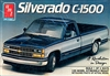 1989 Chevy Silverado C-1500 Pickup (3 'n 1) Street, Custom or Stock (1/25) (fs)