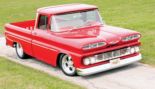 1960 Chevy Fleetside Pickup (1/25) (fs)