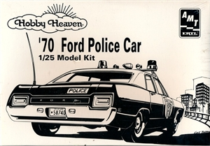 1970 Ford Police Car (1/25) (fs)