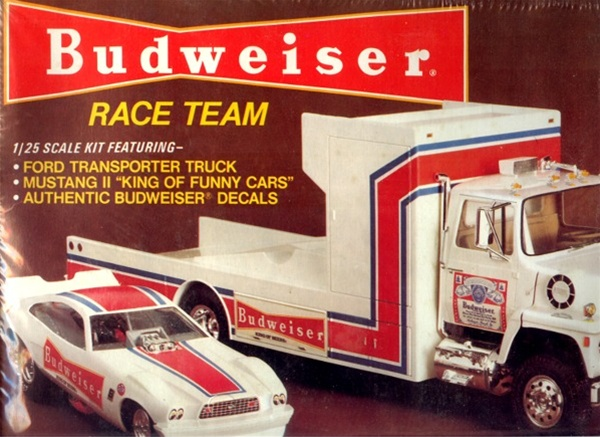 Ford Lnt 8000 Transporter Quot Budweiser Wedge Truck Quot With