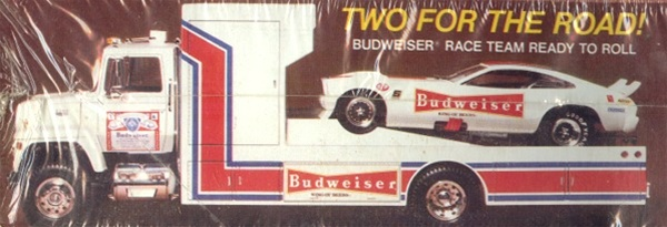 "1978 Ford Truck >> Ford LNT 8000 Transporter ""Budweiser Wedge Truck"" with ..."