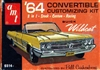 1964 Buick Wildcat Convertible (3 'n 1) Stock, Custom or Racing (1/25)