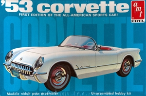 1953 Chevy Corvette Convertible (2 'n 1) Stock or Custom (1/25) (fs)