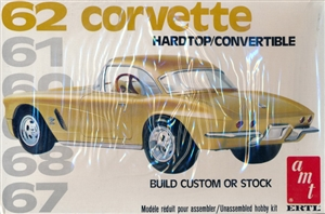1962 Chevy Corvette Hardtop or Convertible (2 'n 1) Stock or Custom (1/25) (fs)