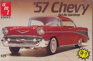 1957 Chevy Bel Air Sport Coupe (3 'n 1) (1/25) (fs)