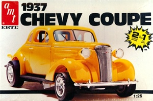 1937 Chevrolet Coupe (2 'n 1) (1/25) (fs)