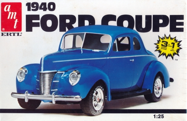 1940 Ford Coupe 3 N 1 Stock Race Or Street 1 25 Fs