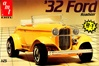 1932 Ford Roadster Model 'B' with Rumble Seat (2 'n 1) Stock or Custom (1/25) (fs)
