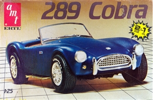 1963 Ford Cobra 289 Roadster (2 'n 1) Stock or Drag (1/25) (si)