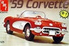 1959 Corvette Convertible (2 'n1) (1/25)  (fs)