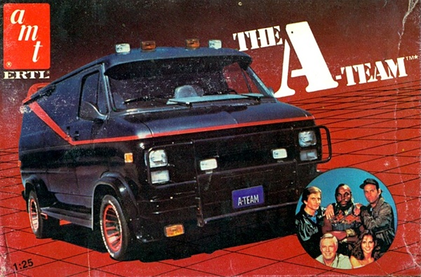 1983 The A Team Gmc Van 1 25 Fs