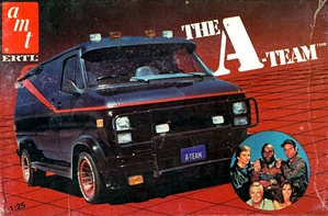 1983 The A-Team GMC Van (1/25) (fs)