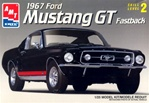 1967 Ford Mustang GT Fastback (1/25) (fs)