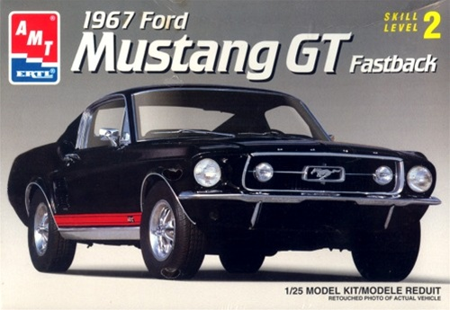 1967 Ford Mustang GT Fastback 1 25 Fs