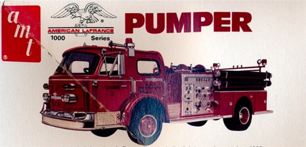 American Lafrance Pumper Fire Truck 1 25 Fs