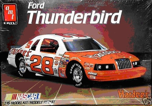 1985 Ford Thunderbird Hardee S 28 Cale Yarborough 1 16
