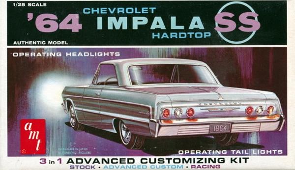 1964 Chevrolet Impala Hardtop Customizing Kit By George