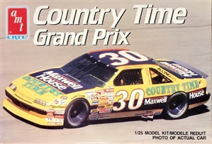 1990 Pontiac Grand Prix 'Country Time' #30 M. Waltrip (1/25) (fs)