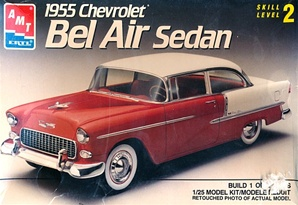 1955 Chevrolet Bel Air Sedan (1/25) (fs)