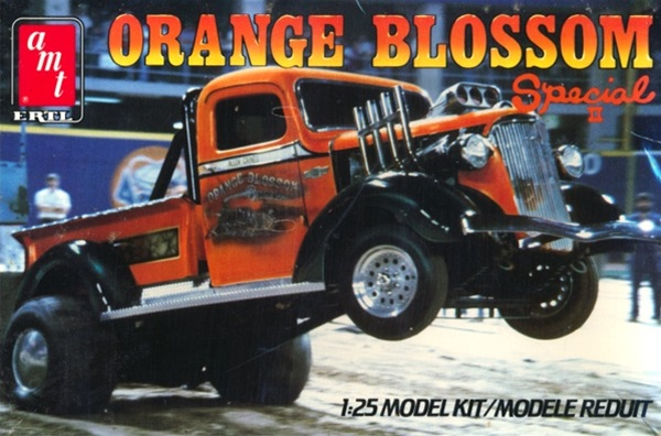 1937 Chevy Pickup Quot Orange Blossom Special Quot Mud Puller 1