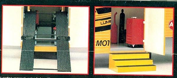 Kodak Ernie Irvan Nascar Racing Transporter Trailer 1