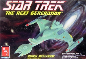 Star Trek 'The Next Generation' Klingon Battle Cruiser (fs)