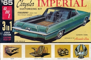 1965 Chrysler Imperial Convertible (3' n 1) Stock, Custom or Pickup (1/25)