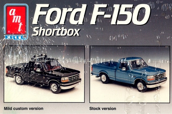 1993 Ford F 150 Shortbox Fleetside 1 25 Fs