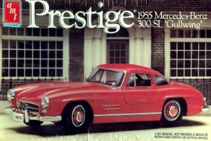 1955 Mercedes 300 SL Gullwing Coupe (1/25) (fs)