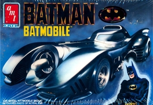Batmobile from 1989 'Batman' movie (1/25) (fs)