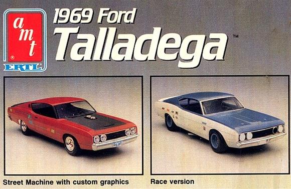 Goodyear Racing Tires >> 1969 Ford Torino Talledega (3 'n 1) Stock, Street, Nascar (1/25) (fs)
