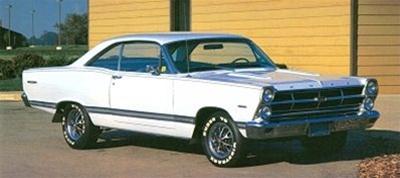 1966 Ford Fairlane GT/GTA (1/25) (fs)