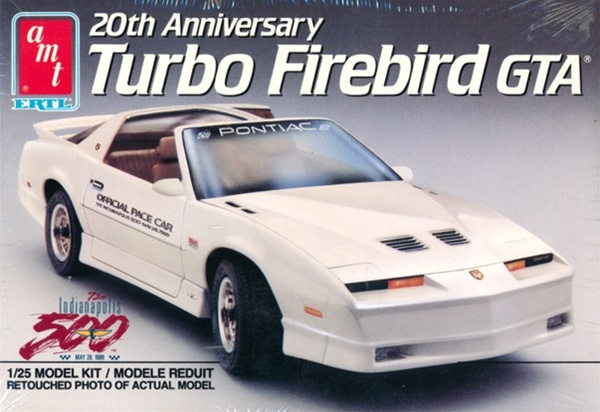 1989 Pontiac '20th Anniversary' Turbo Firebird GTA (1/25) (fs)