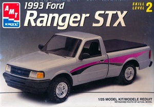 1993 Ford Ranger STX Pickup (2 n'1) Stock or Custom (1/25) (fs)